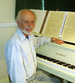 Martin Boykan at piano